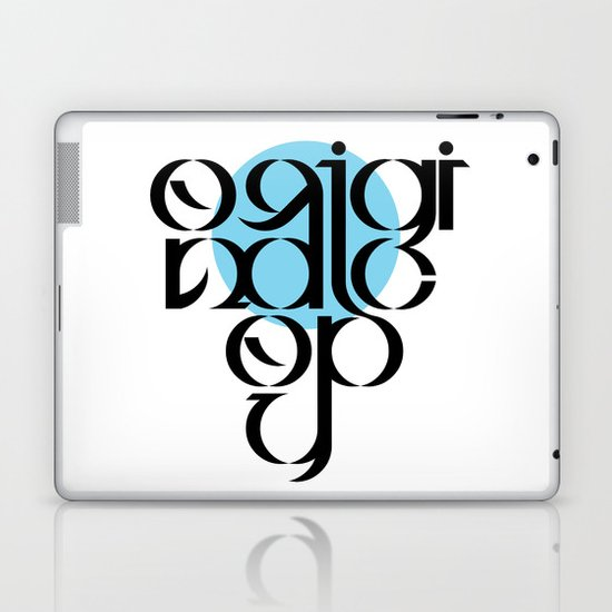 Original Copy Laptop & iPad Skin