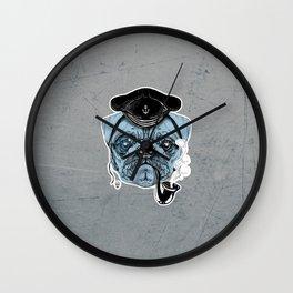 Sailor Pug Wall Clock