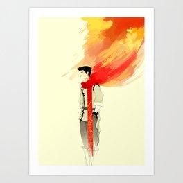 Mako Art Print