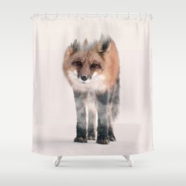 hondo kitsune Shower Curtain