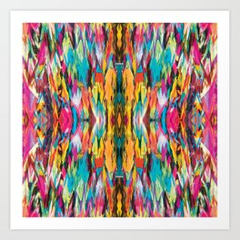 The Second Peace Kaleidoscope Art Print