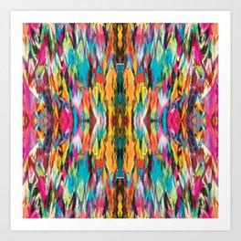 The Second Peace Kaleidoscope Art Print