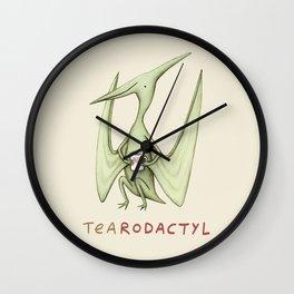 Tearodactyl Wall Clock