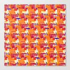 Oranja Plaid Canvas Print