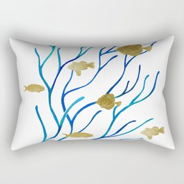 Sea Plants Rectangular Pillow