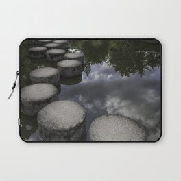 stepping stones; pathway through the clouds Laptop Sleeve