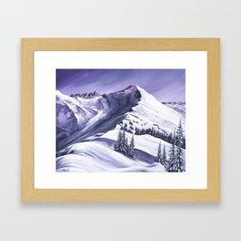 Pointe De Chesery Framed Art Print