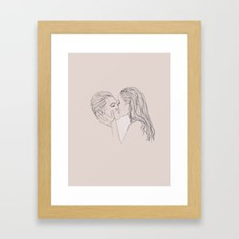 soaked in you Framed Art Print
