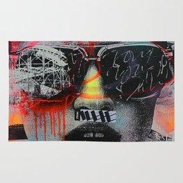 Graffiti Wall NYC Rug