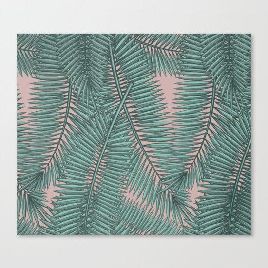 Palm dawn Canvas Print