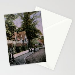 1900 Canford Magna village Dorset England Stationery Cards