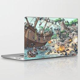 PiratesVSNinjas Laptop & iPad Skin