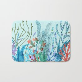 Sea bottom nature Bath Mat