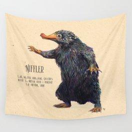 Niffler art Fantastic Beasts Wall Tapestry