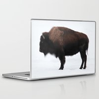 bison Laptop & iPad Skins featuring Bison by Joe-LynnDesign