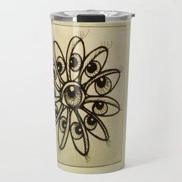 Eye Flower Travel Mug
