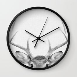 Cute Deer to Warm up A Cold Day Wall Clock