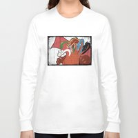 dungeons and dragons Long Sleeve T-shirts featuring DUNGEONS & DRAGONS - TIAMAT by Zorio