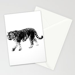 Tiger Prowl Stationery Cards
