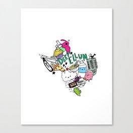 Texas Love Canvas Print