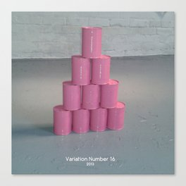 Variation Number 16 (photo) Canvas Print