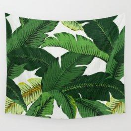 banana leaf palms Wall Tapestry