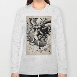 Nyarlathotep by Anna Helena Szymborska Long Sleeve T-shirt