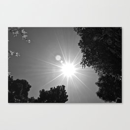 Sun and Sky Canvas Print