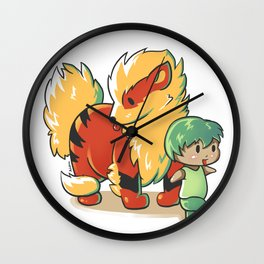 Across the lands Wall Clock