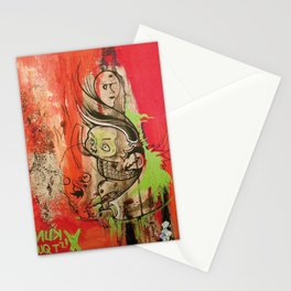 Art Is Yoghurt / Kunst ist Quark Stationery Cards