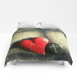 """""""Heart and Soul"""" Comforters"""
