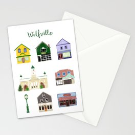 Wolfville Stationery Cards