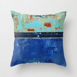 Dress Blues Throw Pillow