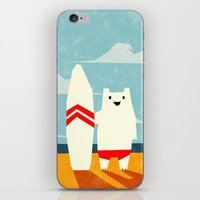 yetiland iPhone & iPod Skins featuring Surf! by Yetiland
