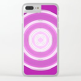 shining purple Clear iPhone Case