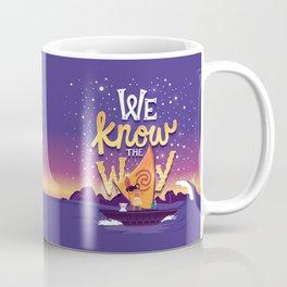 We know the way Coffee Mug