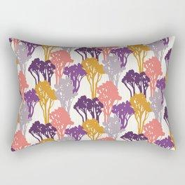 Arboreal Silhouettes Rectangular Pillow
