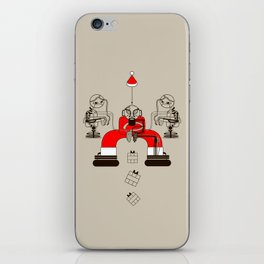 Who loves christmas? iPhone Skin