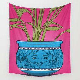 Houseplant Wall Tapestry