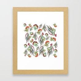 Mixed Australian Eucalyptus Gum Framed Art Print