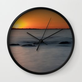 Bathing Ligh Wall Clock