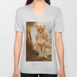 Lions Paradise Unisex V-Neck