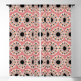 Black stars pattern Blackout Curtain