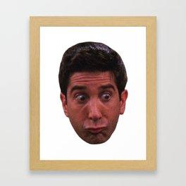Shocked Ross Framed Art Print