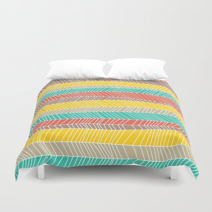 Beach Stripe (warm) Duvet Cover