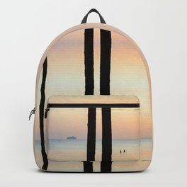 white summer night dreams Backpack