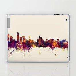 Liverpool England Skyline Laptop & iPad Skin