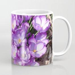Watercolor Flower, Purple Crocus 01, Washington D.C., Spring Delights! Coffee Mug