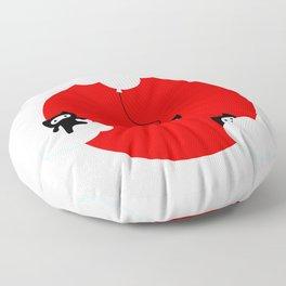 Ninja cats in the sky (Japanese edition) Floor Pillow