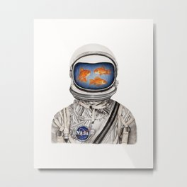 Space For All Metal Print